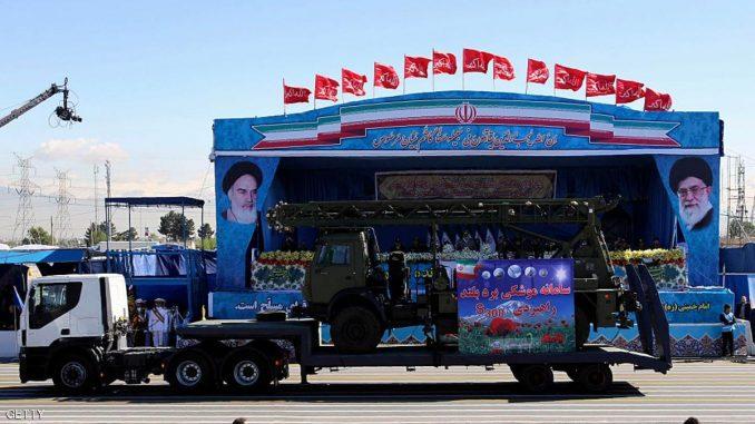 العرض العسكري الإيراني