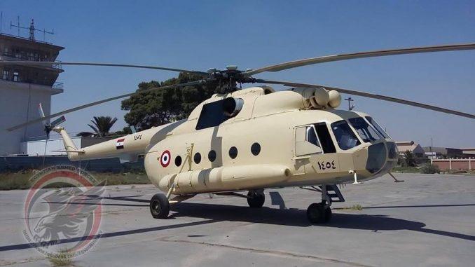 مروحية مي-8 المصرية