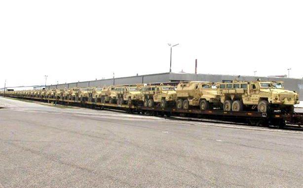 ناقلات الجند المدرعة MRAP