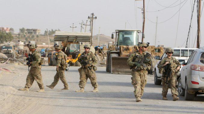 الجنود الأميركيون في العراق
