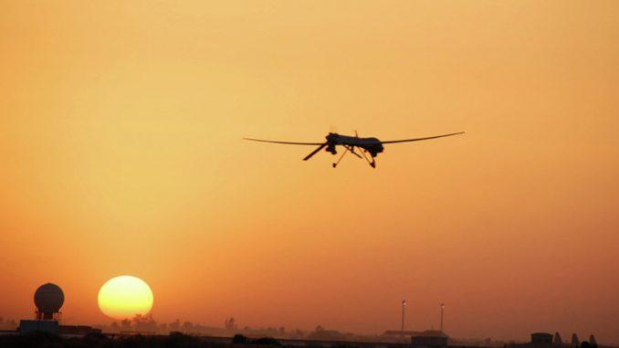طائرة بدون طيار أميركية