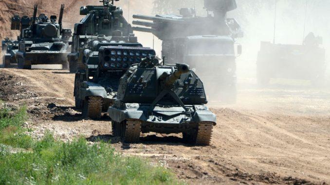 العتاد العسكري الروسي