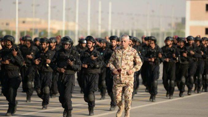 قوات الأمن الخاصة السعودية المشاركة في أمن الخليج 1