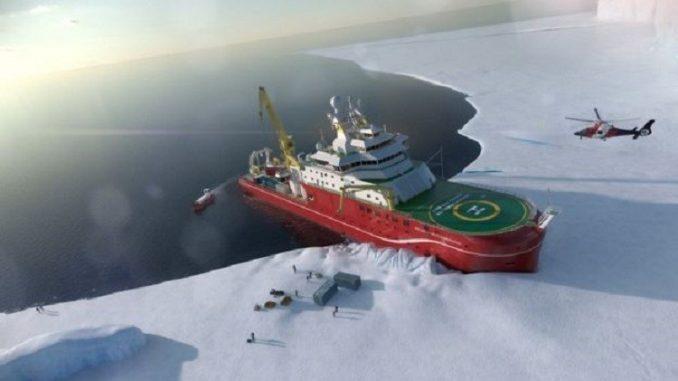 سفينة قطبية عملاقة