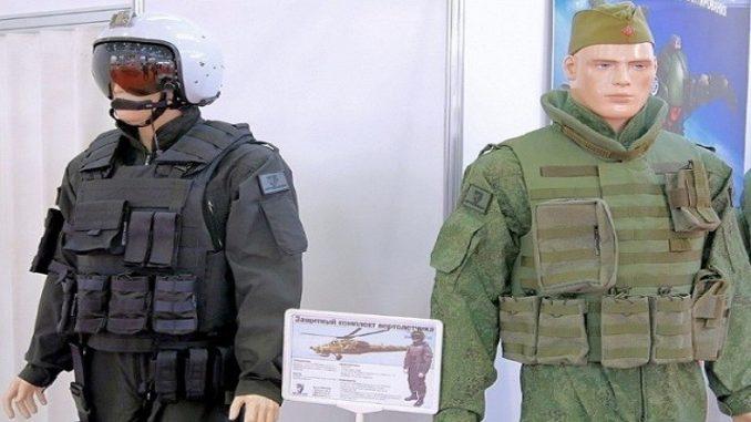 بزات واقية لأفراد المروحيات الروسية