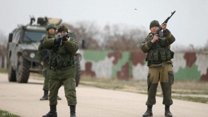 جنود روس في القرم