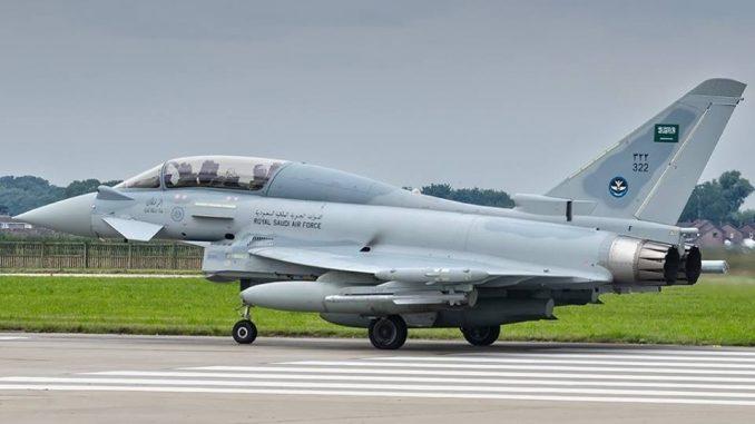 مقاتلة Eurofighter Typhoon السعودية