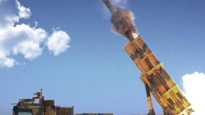 منظومة صواريخ الإعصار 302