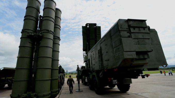 """منظومة الدفاع الجوي """"إس-400"""""""