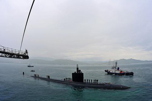 غواصة USS Columbia