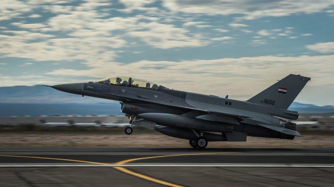 مقاتلة إف-16 العراقية