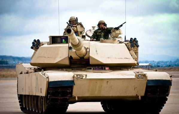 دبابة M1A1