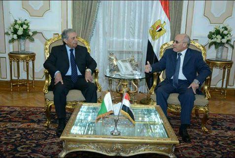 وزير الإنتاج الحربي المصري و وزير الإنتاج الدفاعي الباكستاني
