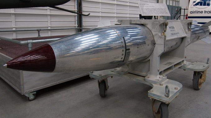 قنبلة أميركية نووية