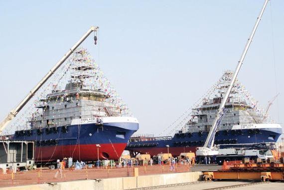 سفن حربية في السعودية