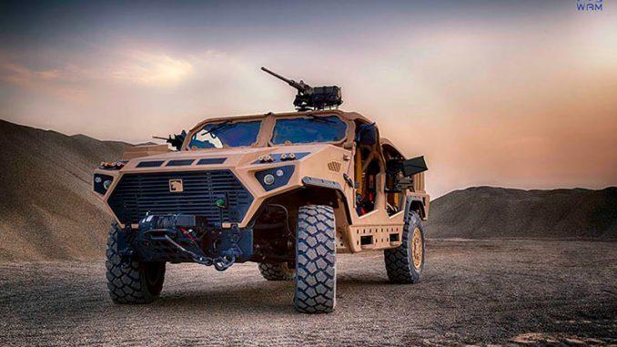 آليات نمر العسكرية
