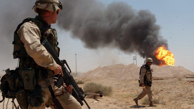 جنديان أميركيان في العراق