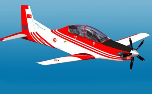 طائرة تدريب تركية