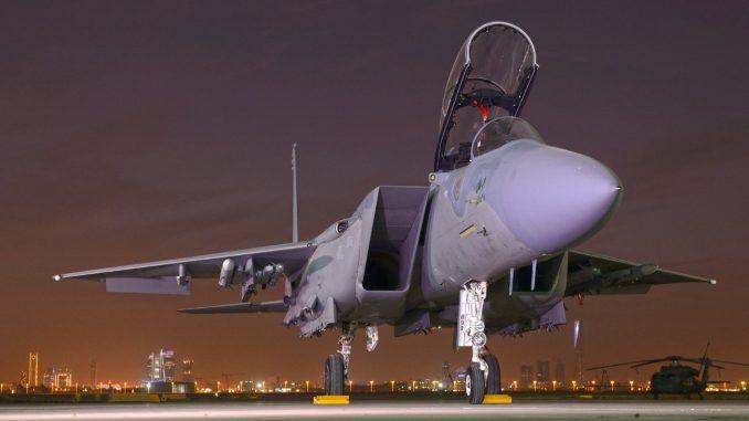 """مقاتلة """"أف-15 أس أي"""""""