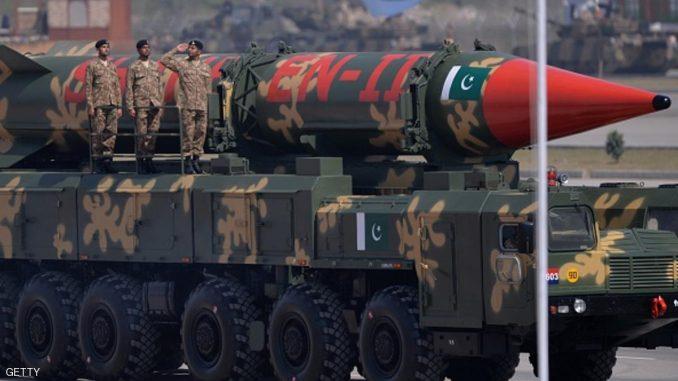 استعراض عسكري في باكستان