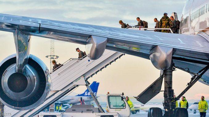 وصول مشاة البحرية الأميركية إلى النرويج (Reuters)