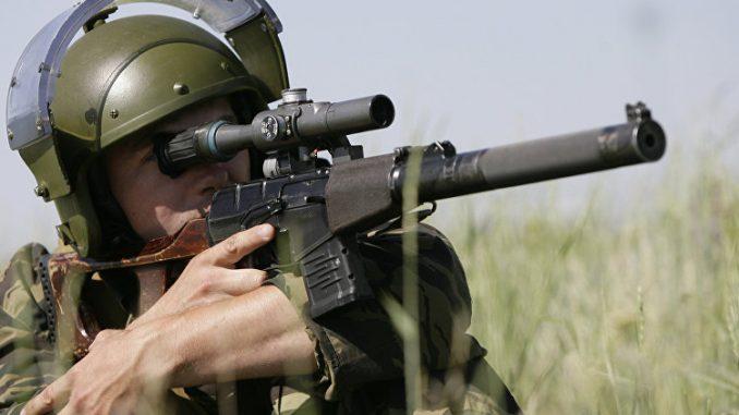 بندقية القنص الروسية فى مناورات للداخلية الروسية
