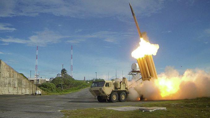 اختبار الدفاع الجوي الأميركي