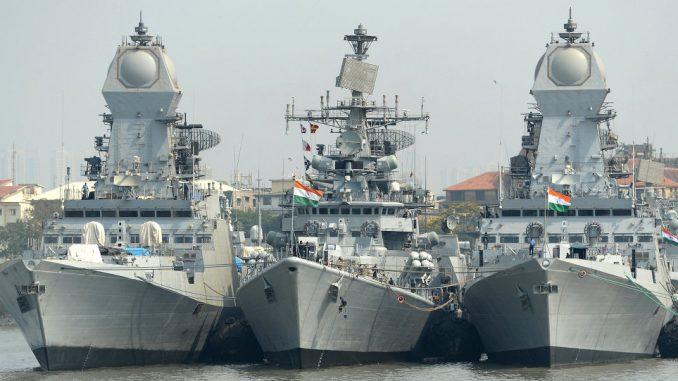 سفن حربية هندية