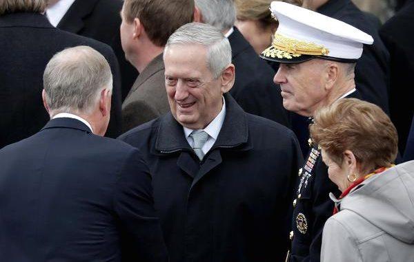 وزير الدفاع الأميركي جيمس ماتيس