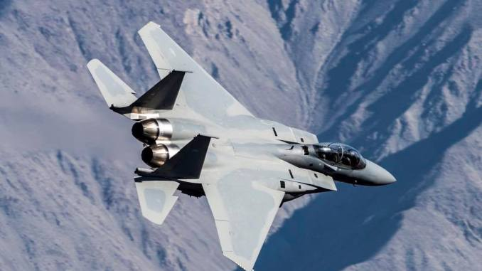 مقاتلة F-15 SA