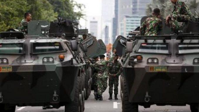 الجيش الإندونيسي