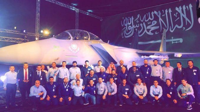 المهندسون السعوديون المشاركون في إنتاج F15-SA