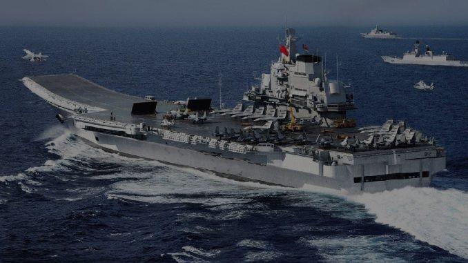"""حاملة الطائرات الصينية """"لياونينغ"""""""