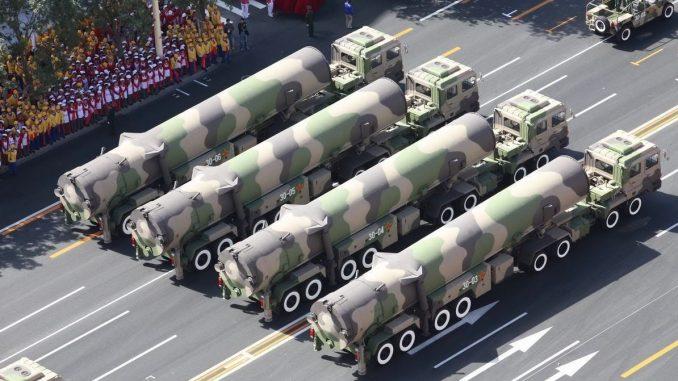 صواريخ DF-41 الصينية