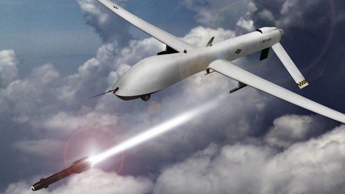 طائرة بدون طيار مقاتلة