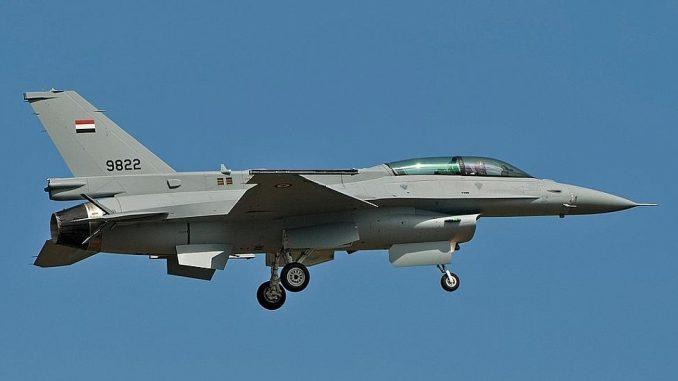 مقاتلة إف-16 المصرية