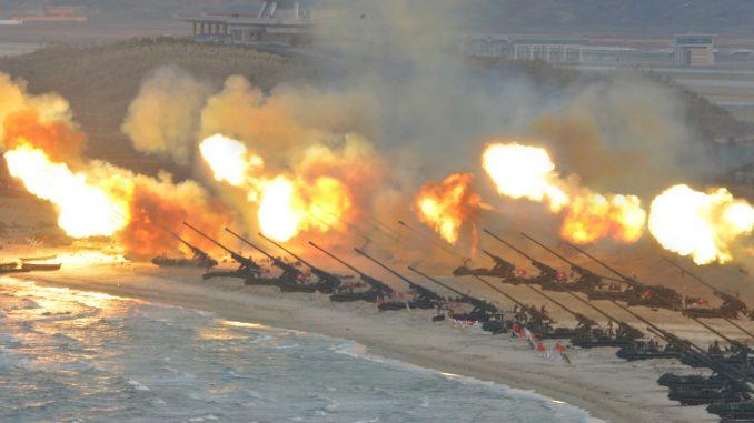 ضربات نووية لكوريا الشمالية