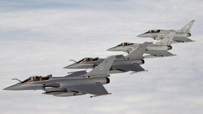 مقاتلات الرافال الفرنسية
