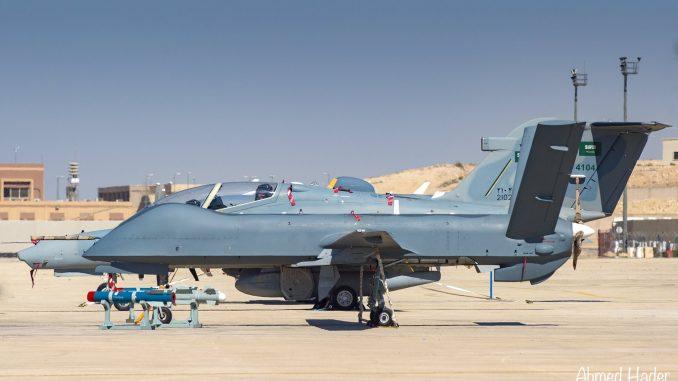 طائرة Wing Loong في أول ظهور لها في السعودية