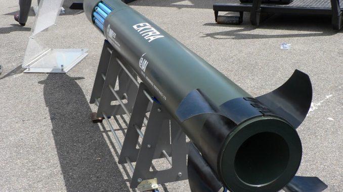"""صاروخ """"إكسترا"""" الإسرائيلي"""