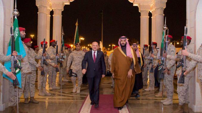 وزيرا الدفاع السعودي والتركي