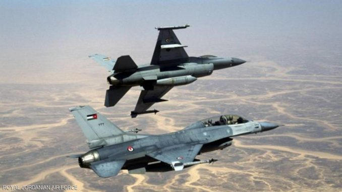 مقاتلات أردنية