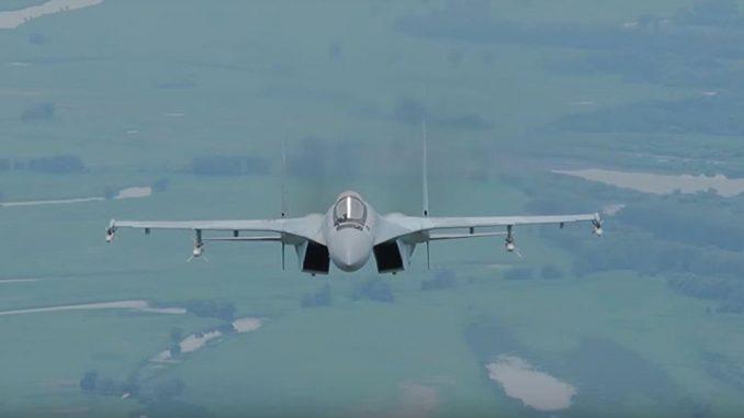 """مقاتلة """"سو-35"""" الروسية"""