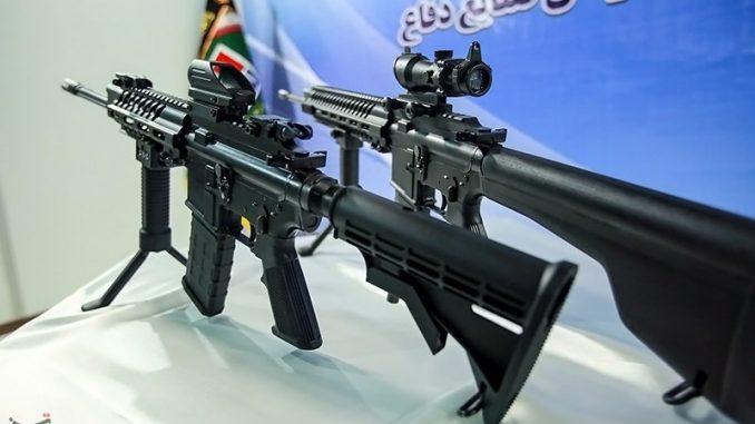 الأسلحة التي كشفت عنها إيران