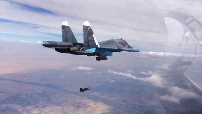 مقاتلة روسية في سوريا