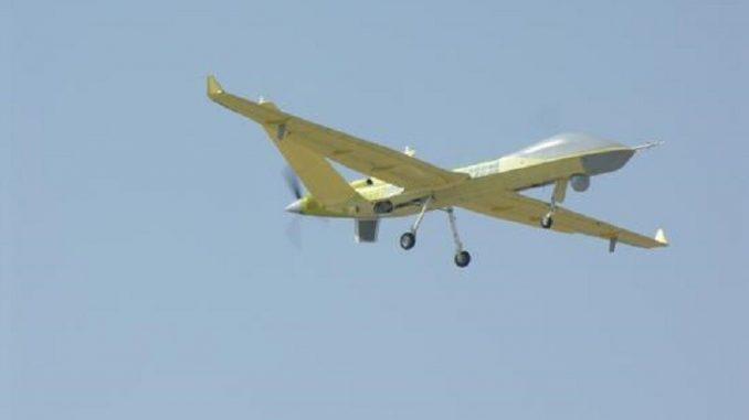 طائرة Wing Loong II خلال الاختبار