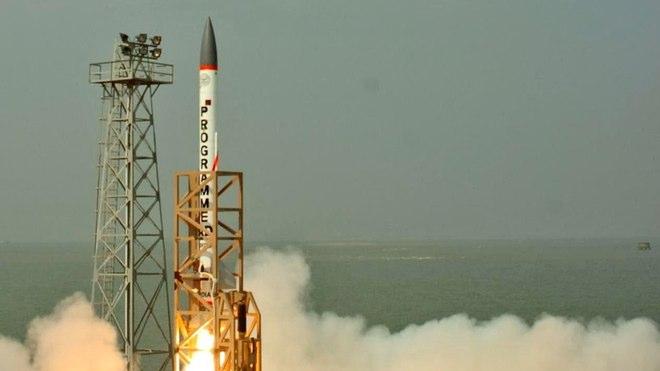 تجربة هندية لصاروخ