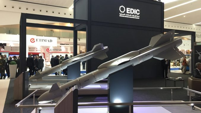 منصة عرض EDIC في آيدكس 2017