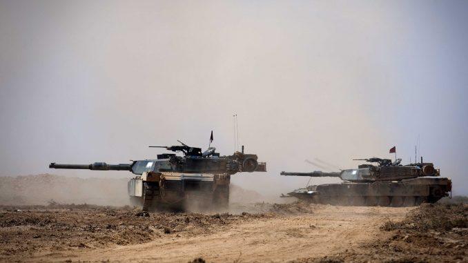 دبابة أبرامز M1A1