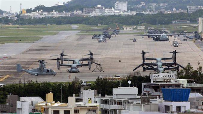 القاعدة الأميركية في أوكيناوا